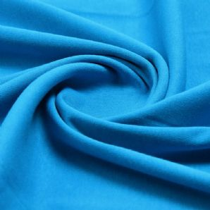 Teal - Plain 100% Cotton Interlock Double Jersey